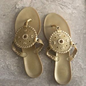 Jack Rogers Georgica Jelly Thong Sandals.........